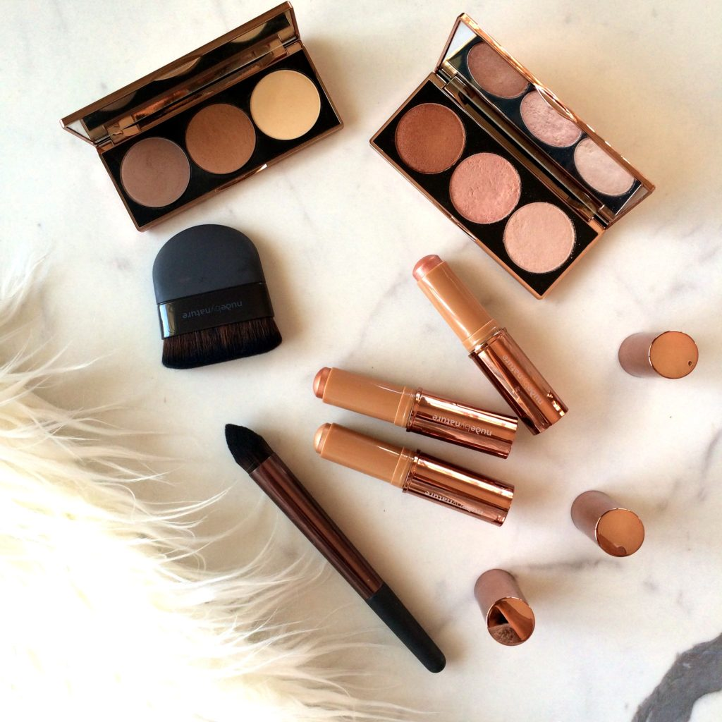 The Nude By Nature Contour and Highlight Palettes - The Lilly Mint Blog