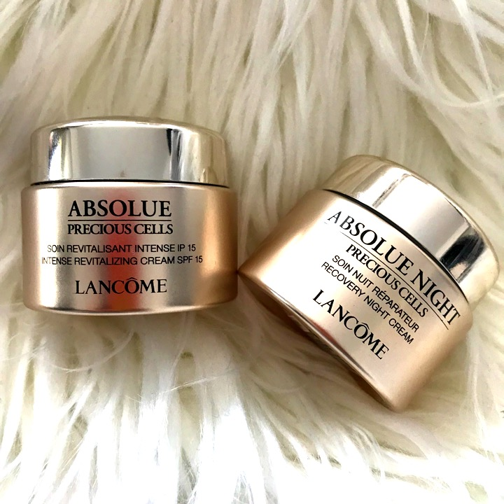 Lancome Absolue Intense Revitalising Day Cream and Recovery Night Cream