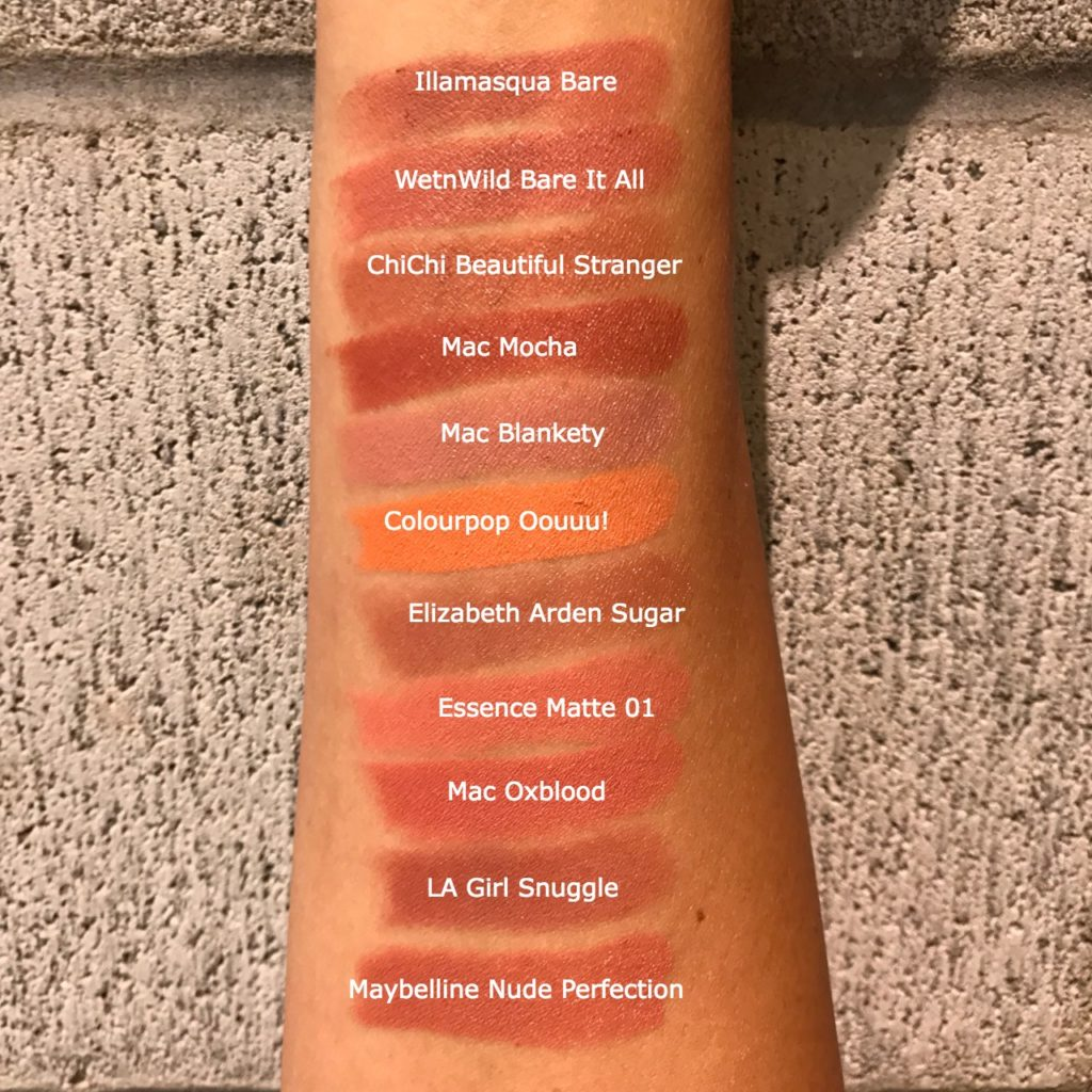 Nude Lipstick Swatches kazza7